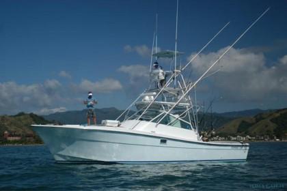 36 Topaz Express Costa Rica angeln