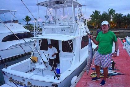 Atlantida Bertram 33 f Punta Cana angeln