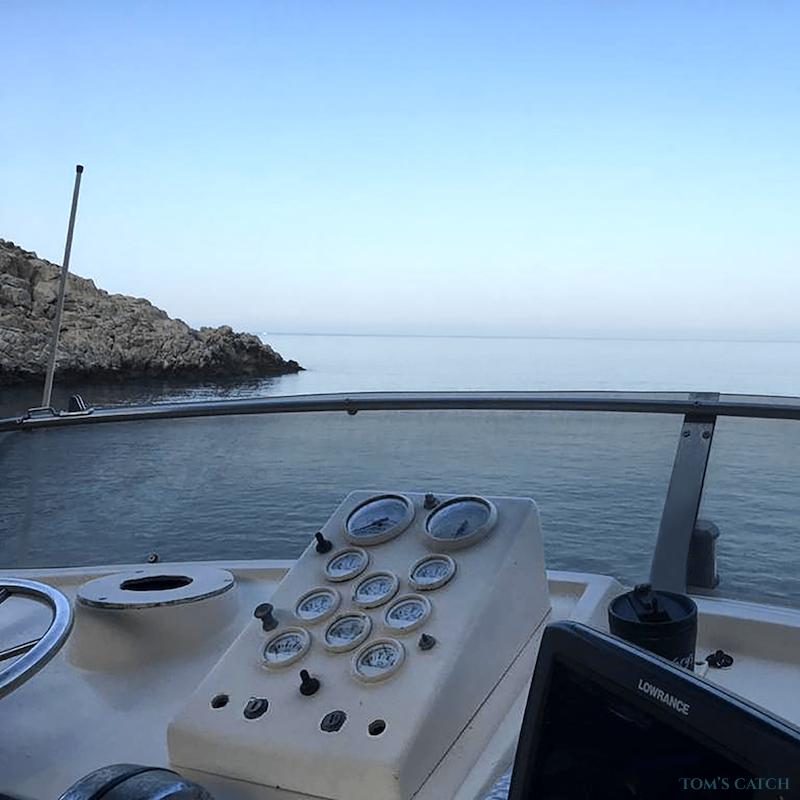 Geführte Angeltouren Bertram 35ft Fishing Crete Island