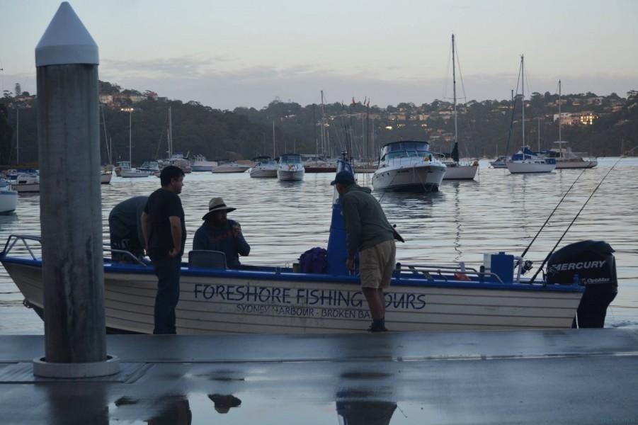 Geführte Angeltouren Foreshore Fishing Tours