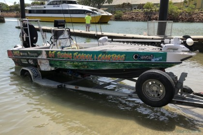G&T Fishing School & Charters Queensland angeln