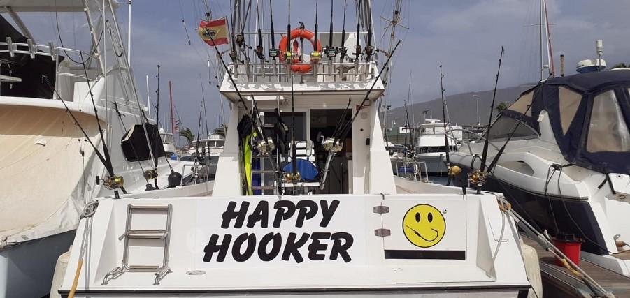 Geführte Angeltouren Happy Hooker 3