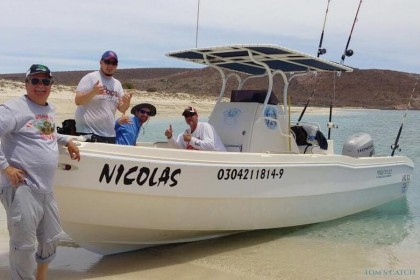 Super Panga I La Paz angeln