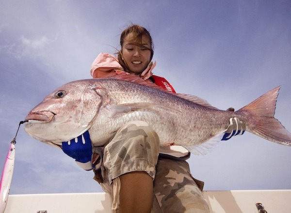 "Nice ""Sama"" caught Jigging during a deep sea fishing tour in Fuerteventura"