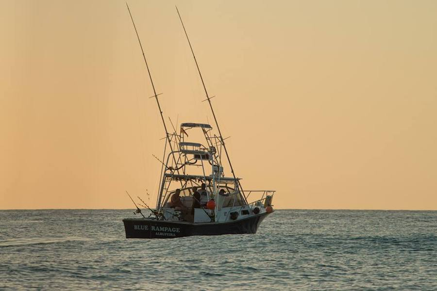 Blue Rampage Albufeira fishing charter portugal