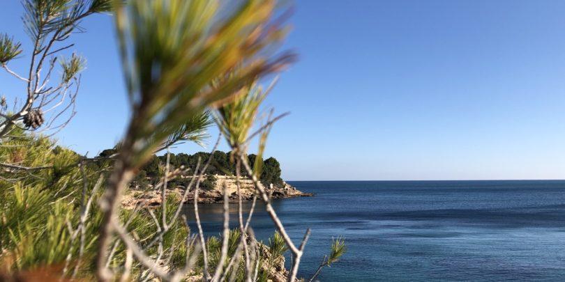 Bays and coves in Sardinia Coast Line