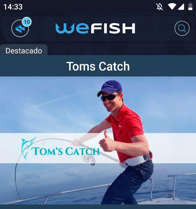 Tomscatch.com fishing charters WeFish