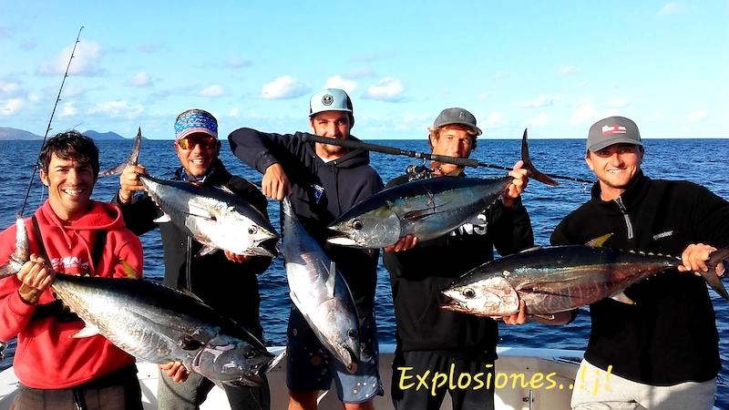 Tuna fishing in La Graciosa Lanzarote