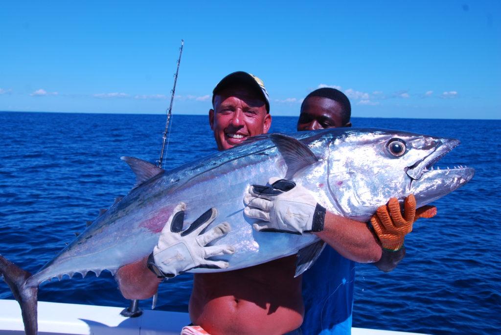 Dogtooth tuna caught in Madagascar