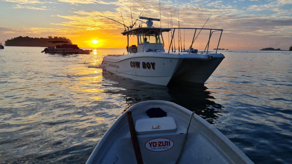 Cow Boy centre console sport fishing boat Panama