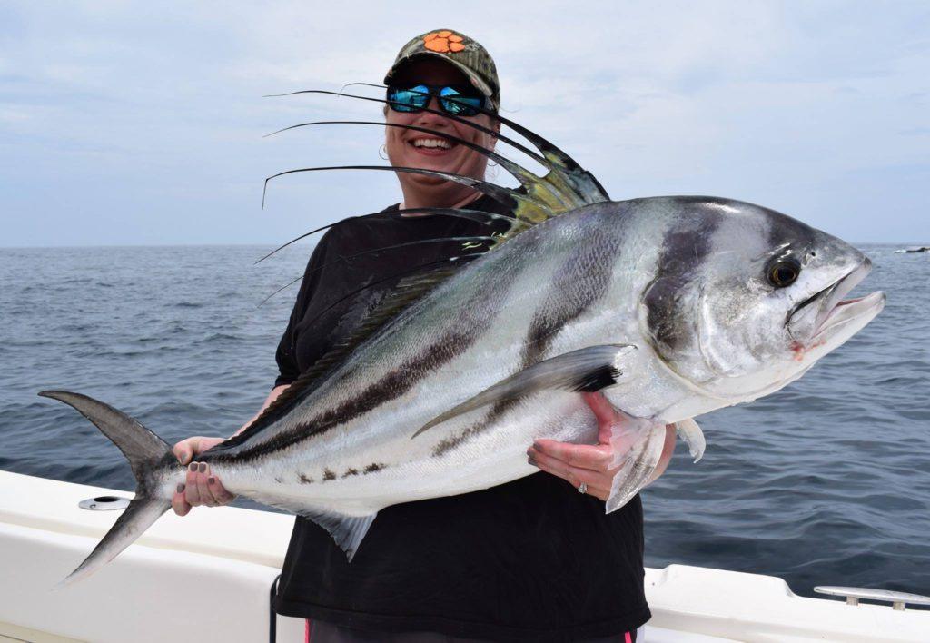 Roosterfish Sport fishing in Panama