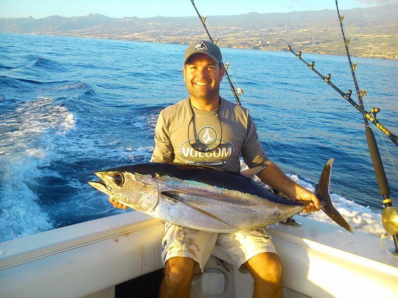 Albacore fishing Tenerife
