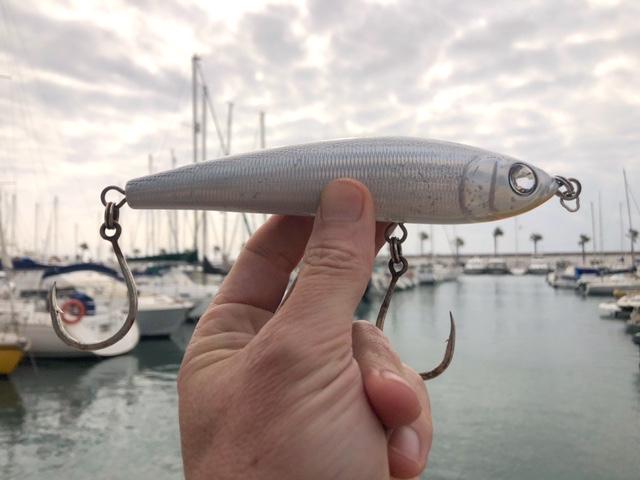 Paseante para pescar atún a spinning