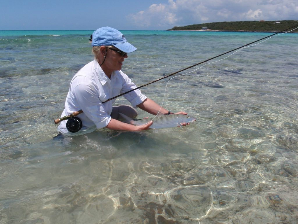 Bonefish fishing in Riviera Maya