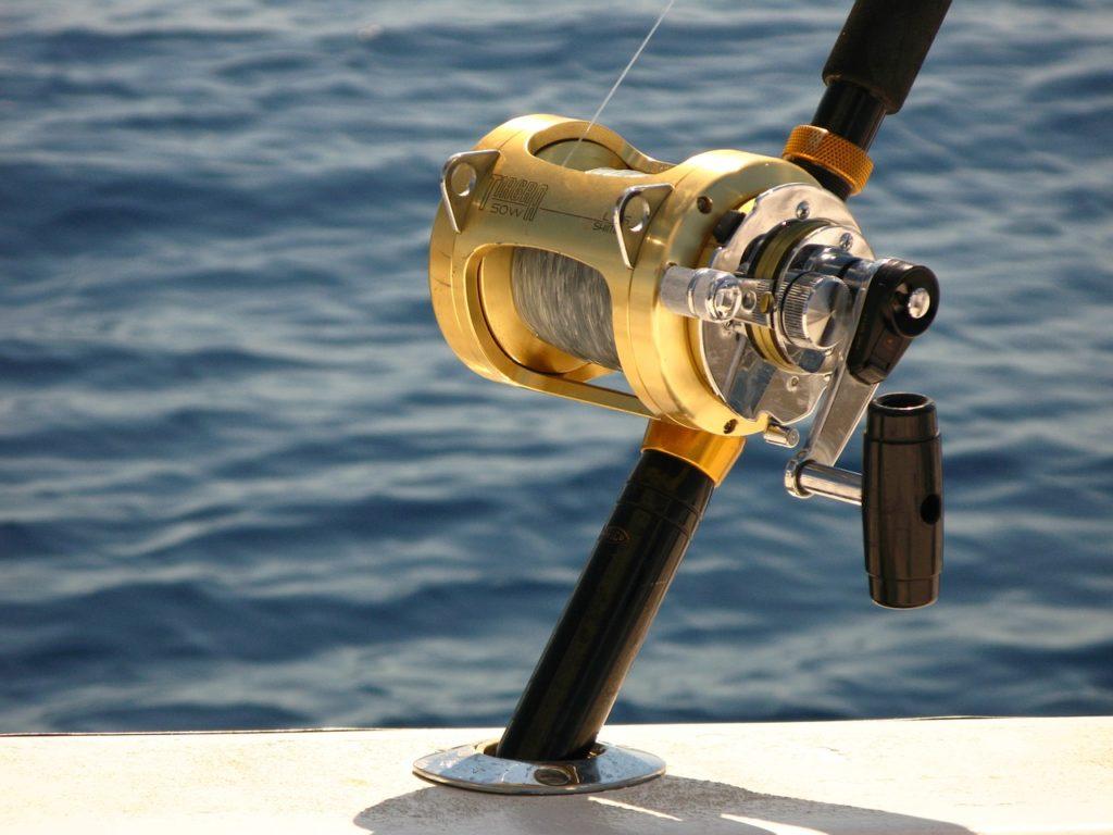 Carrete pesca de altura