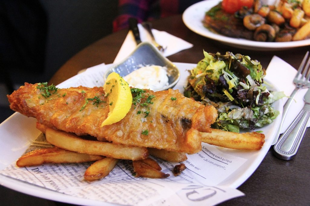 Fish and chips Cod