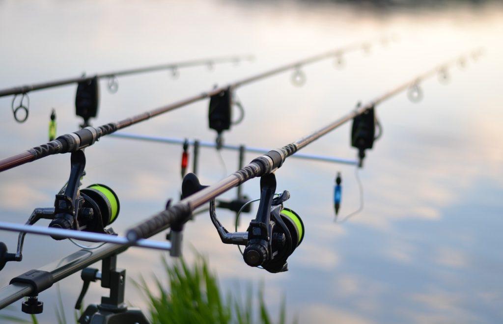 Carretes de pesca carp fishing