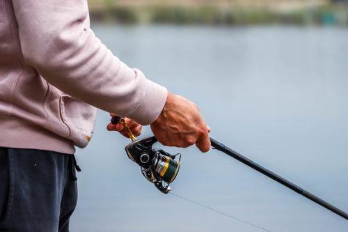 Spin fishing reel