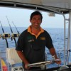 Avatar del capitán del charter Oscar Pinedo