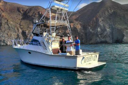Charter de pesca Afishinados