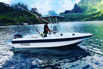 AK FISHING Moorea pesca