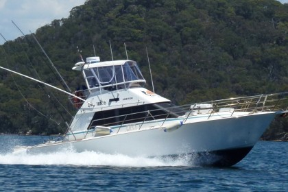 Ambition Game Fishing Charters Sídney pesca