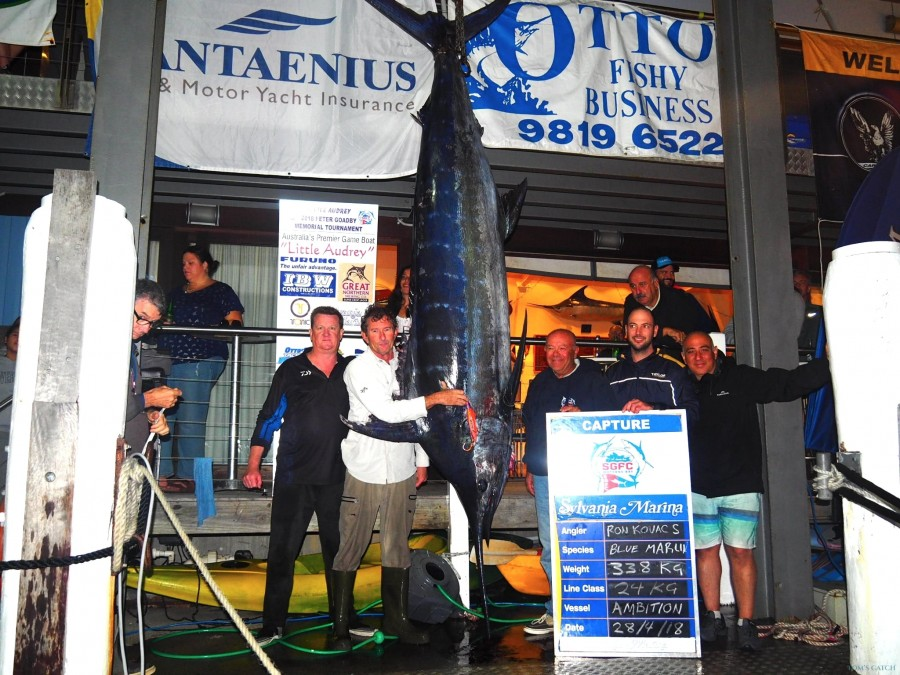 Charter de pesca Ambition Game Fishing Charters