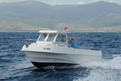 At Last IV Estrecho de Gibraltar pesca