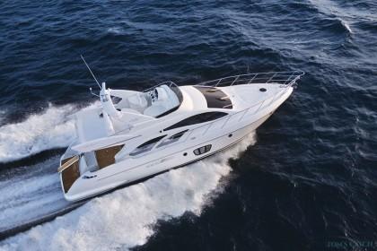 Charter de pesca Azimut 55