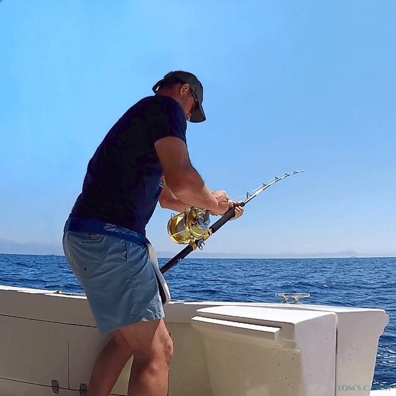 Charter de pesca Bertram 35ft Fishing Crete Island