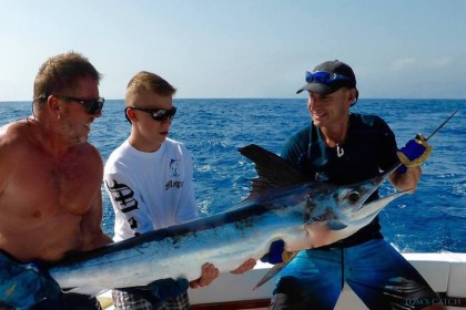 Charter de pesca Bertram