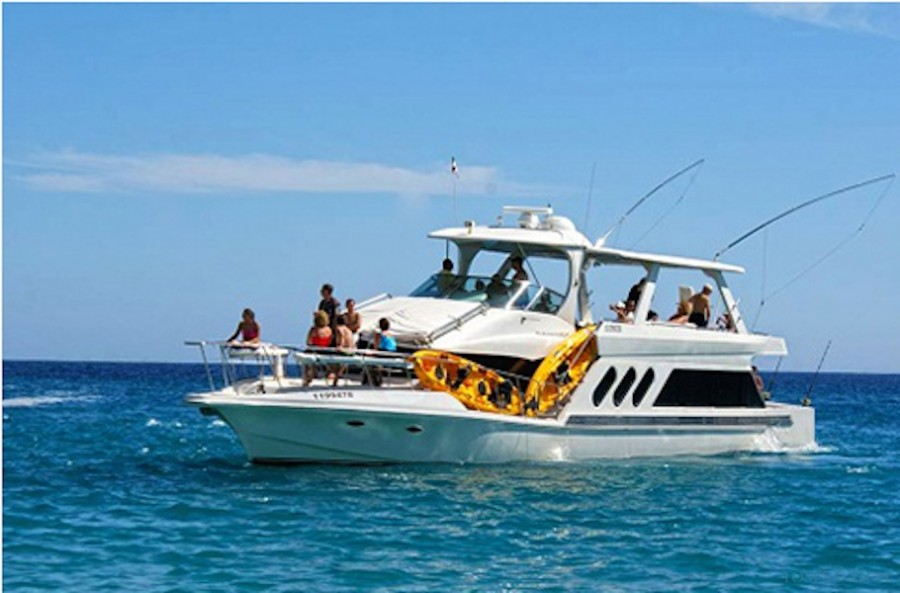 Charter de pesca Blue Water 72 ft