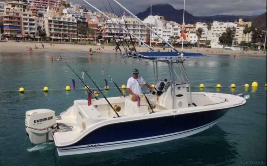 Charter de pesca Cabracho