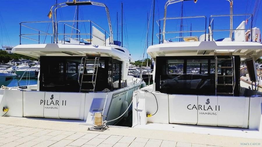 Charter de pesca Carla 2