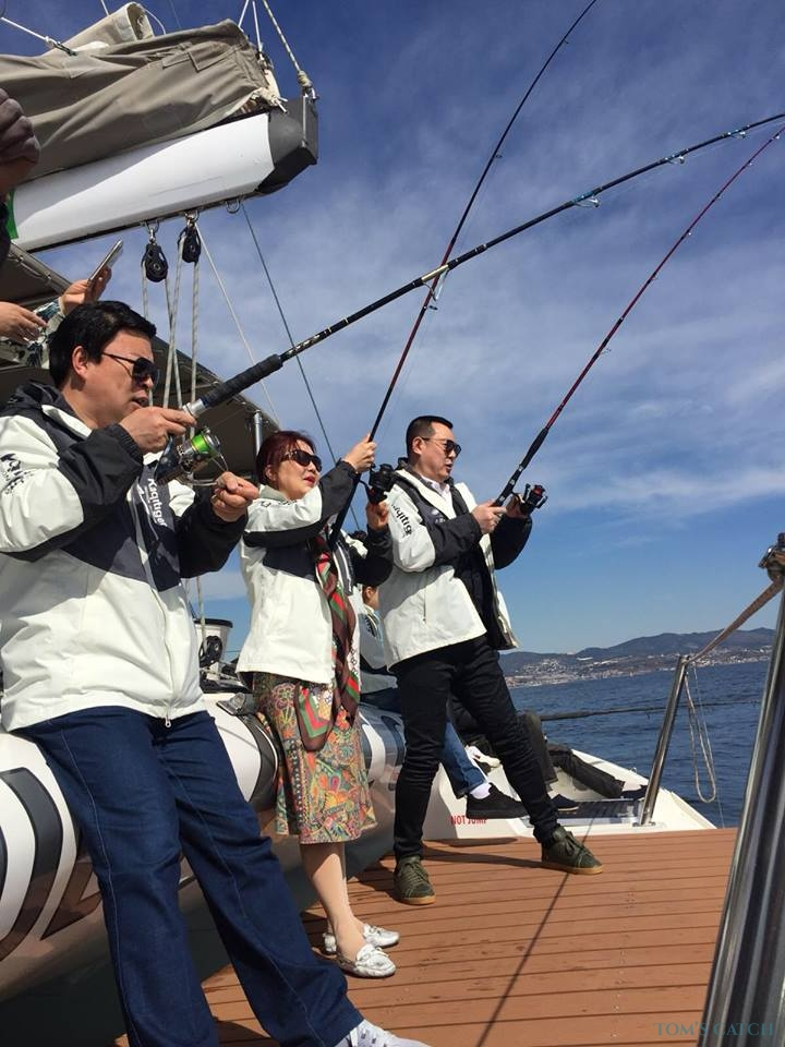 Charter de pesca Catamaran Barcelona