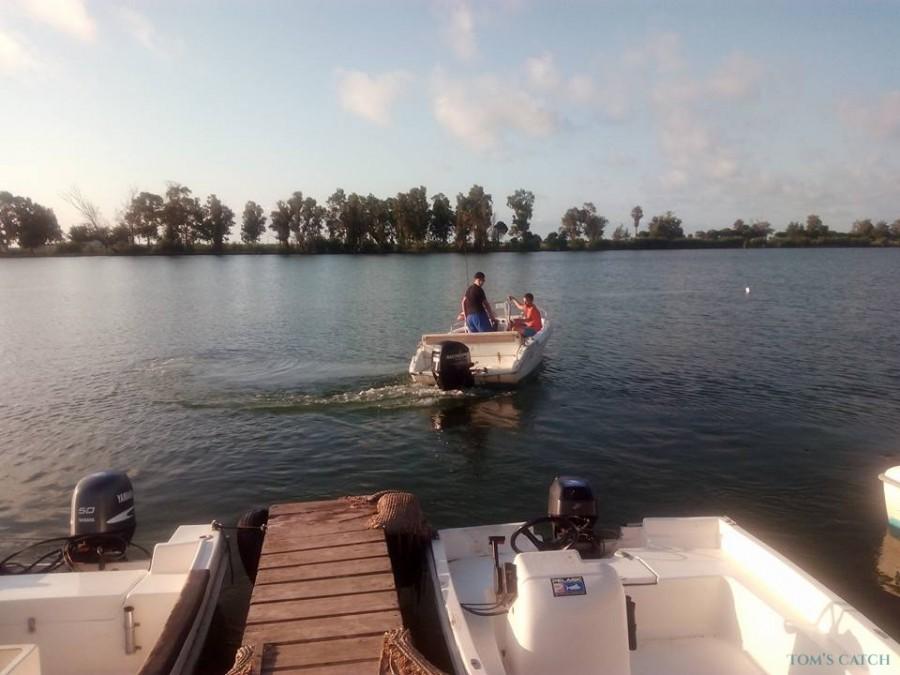 Charter de pesca Chorrilla