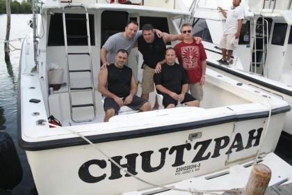 Charter de pesca Chutzpah