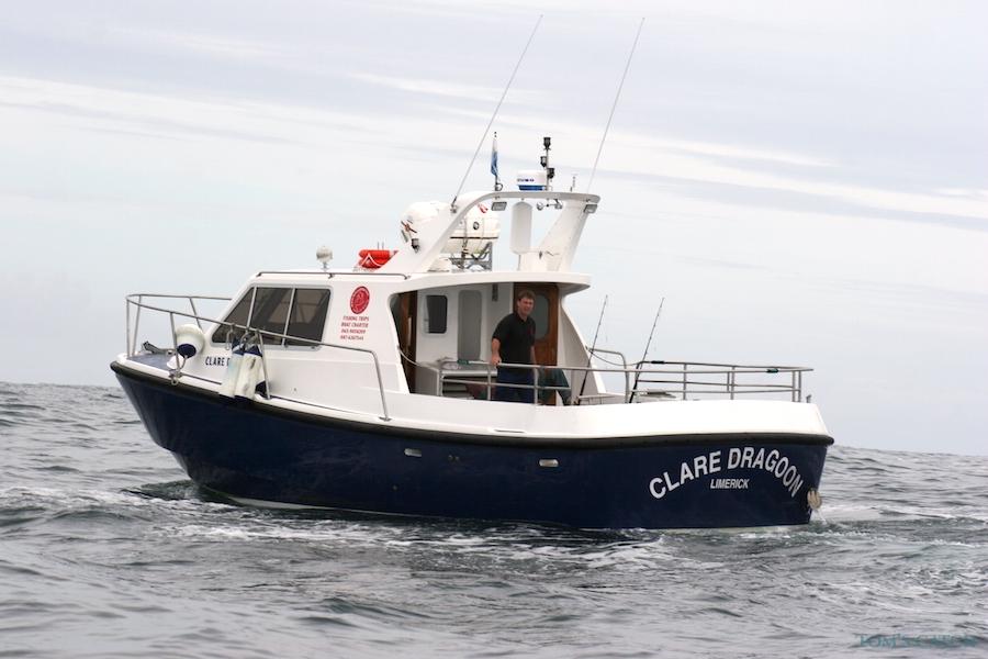 Charter de pesca Clare Dragoon