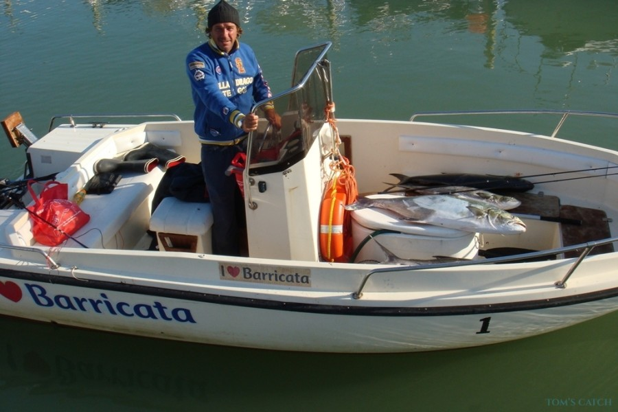 Charter de pesca Conero