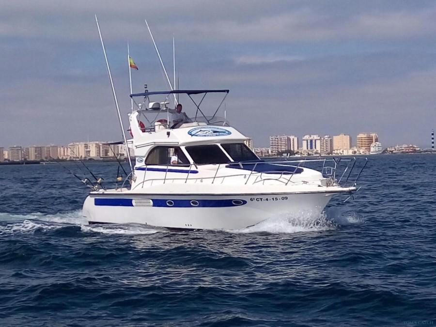 Charter de pesca Cruz II La Manga