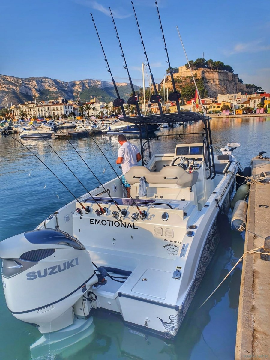 Charter de pesca Emotional