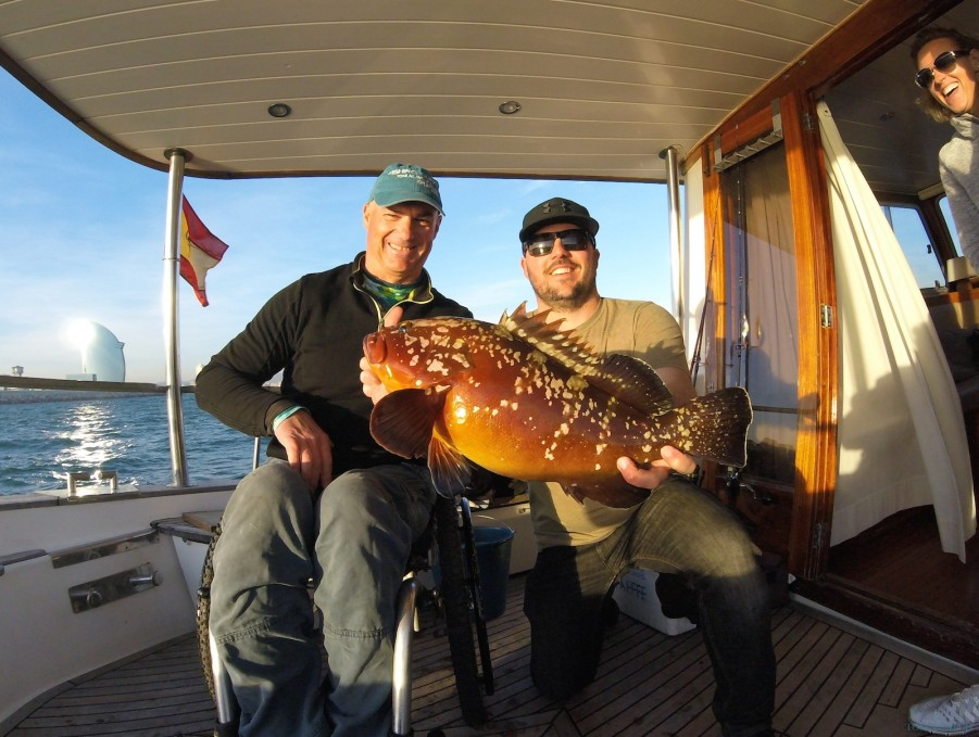 Charter de pesca Es Cau