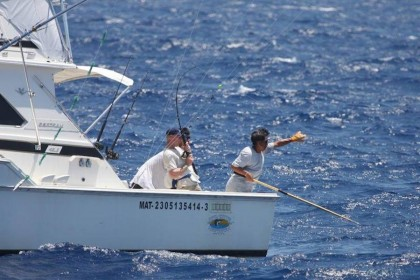 Charter de pesca Finatik