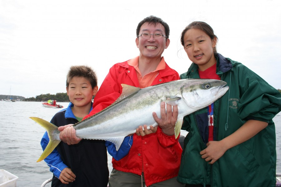 Charter de pesca Fishabout