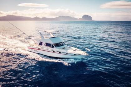 Flipper 7 Isla de Mauricio pesca