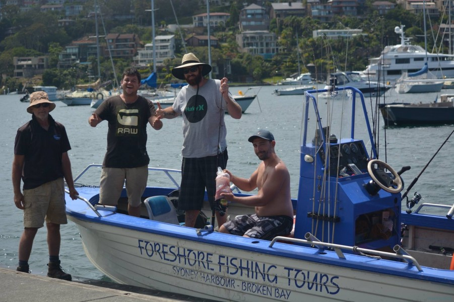 Charter de pesca Foreshore Fishing Tours
