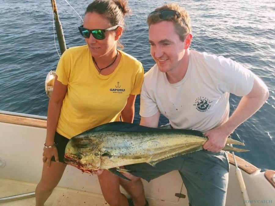 Charter de pesca Gatufas