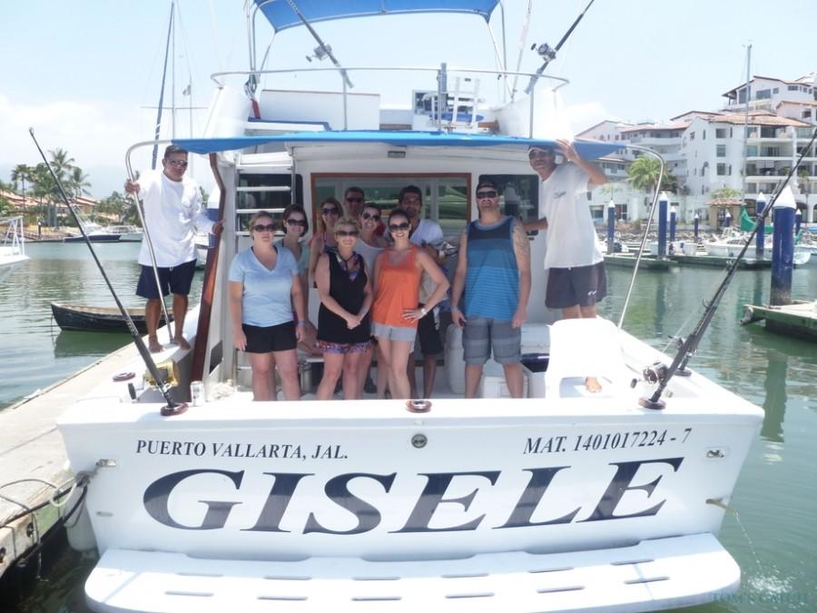 Charter de pesca Gisele