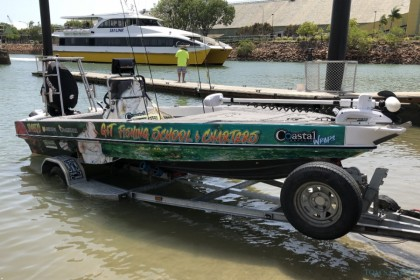 G&T Fishing School & Charters Queensland pesca