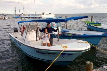 Isabella Riviera Maya pesca